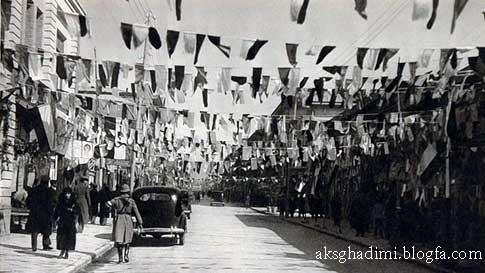 خیابان لاله زار دهه بیست